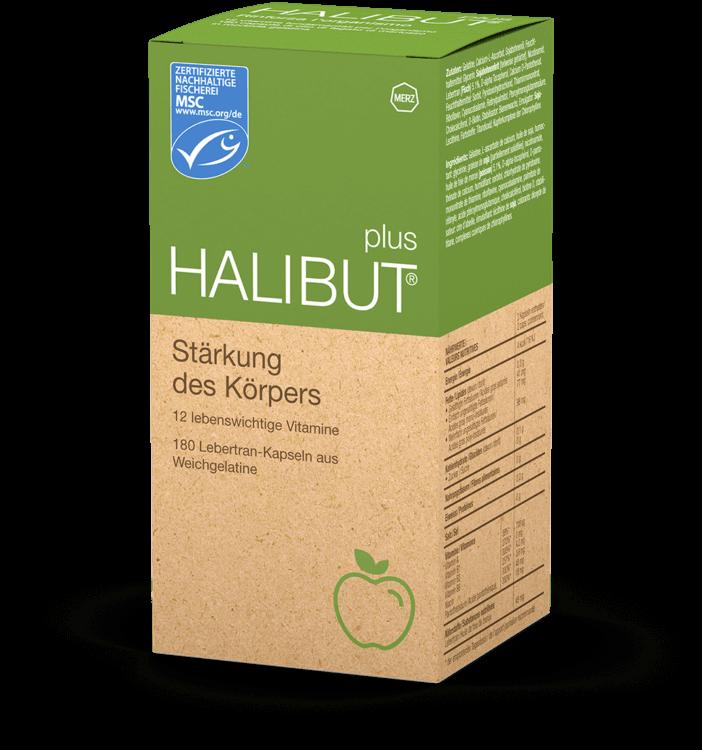 halibut plus packshot deutsch