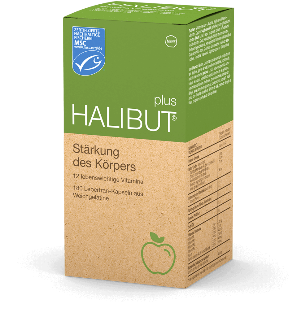halibut plus packshot deutsch